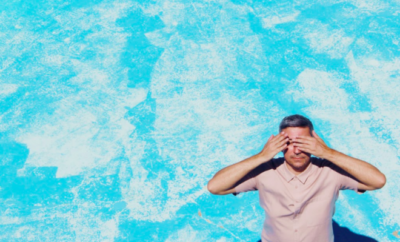 nicolas vidal bleu piscine