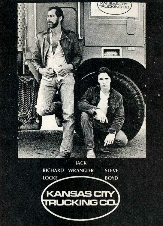 kansas city trucking co film gay joe gage
