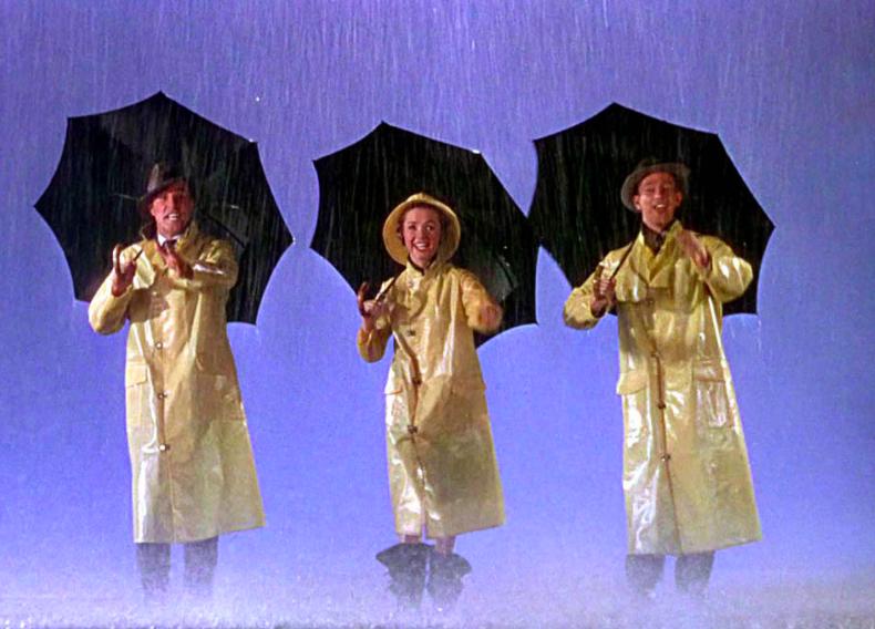 chantons sous la pluie film
